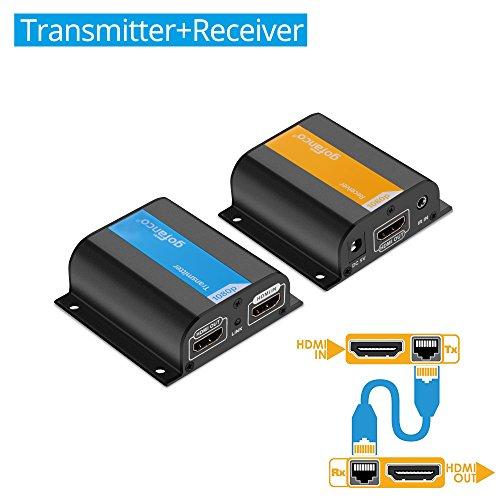 HDMI extender met CAT kabel